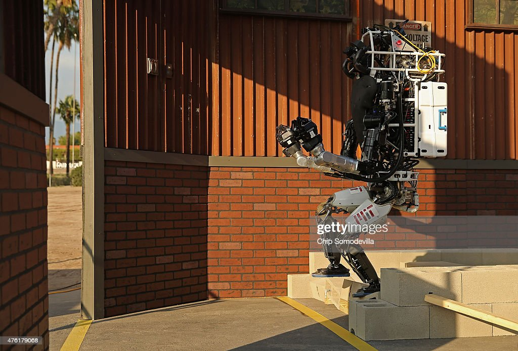 DARPA Robotics Challenge Showcases Cutting Edge In Artificial Intelligence : News Photo