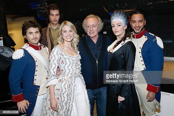 Team Musical Comedy Marie Antoinette et le Chevalier de Maison Rouge Mickael Miro Valentin Marceau Aurore Delplace Autor Didier Barbelivien Kareen...