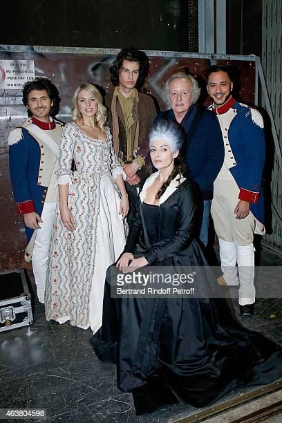 Team Musical Comedy Marie Antoinette et le Chevalier de Maison Rouge Mickael Miro Aurore Delplace Valentin Marceau Kareen Antonn Autor Didier...