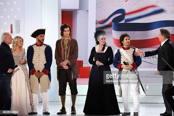 Team Musical Comedy Marie Antoinette et le Chevalier de Maison Rouge Autor Didier Barbelivien Aurore Delplace Slimane Valentin Marceau Kareen Antonn...