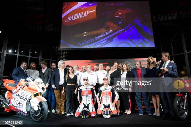 Team MV AGUSTA amp Forward Racing Team presentation of the official racing team and drivers Stefano Manzi and Dominique Aegerter Monday 11 February...