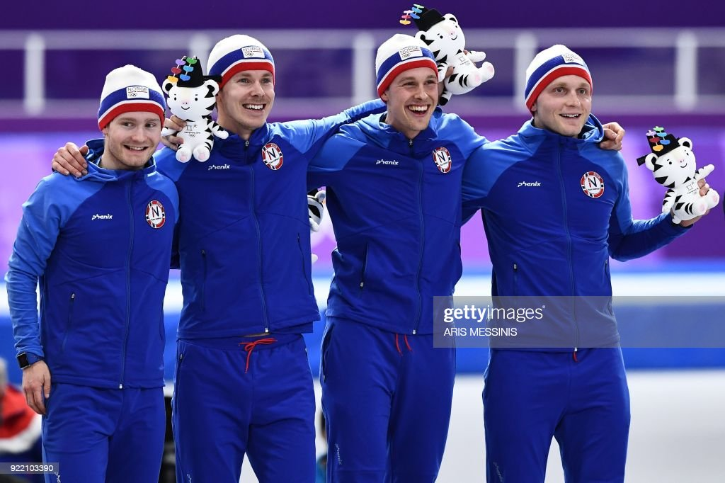 SSKATING-OLY-2018-PYEONGCHANG-PODIUM : News Photo