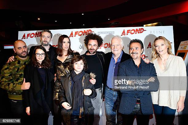 Team od f the movie Jerome Commandeur Josephine Callies Vincent Desagnat Charlotte Gabris Stylane Lecaille director Nicolas Benamou Andre Dussollier...