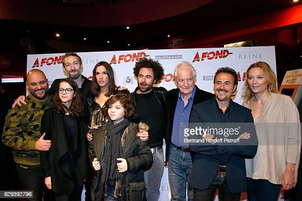 Team od f the movie Jerome Commandeur Josephine Callies Vincent Desagnat Charlotte Gabris Stylane Lecaille director Nicolas Benamou Andre Dussollier...