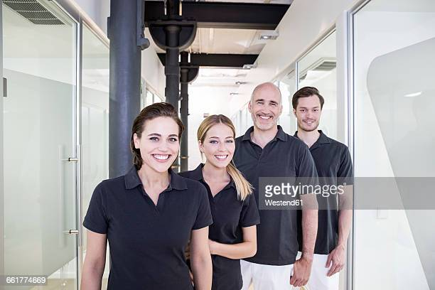 Team of a dental surgery