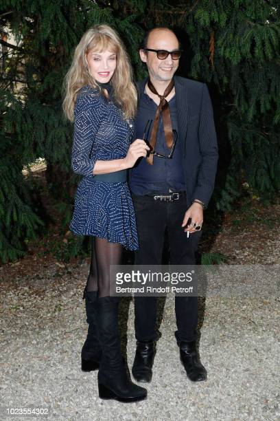 Team of Alien Crystal Palace Director Arielle Dombasle and Nicolas Ker attend the 11th Angouleme FrenchSpeaking Film Festival Day Five on August 25...