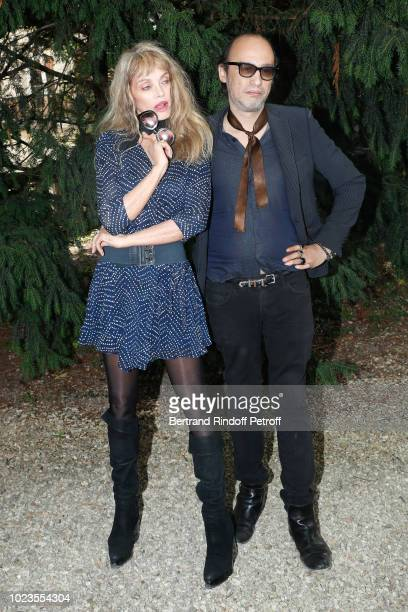 Team of 'Alien Crystal Palace' Director Arielle Dombasle and Nicolas Ker attend the 11th Angouleme FrenchSpeaking Film Festival Day Five on August 25...
