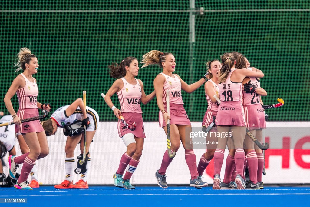 DEU: Germany v Argentina - Women's FIH Field Hockey Pro League