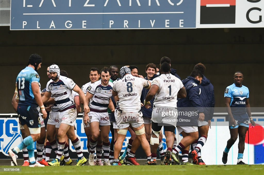 Montpellier v Union Begles Bordeaux - Top 14