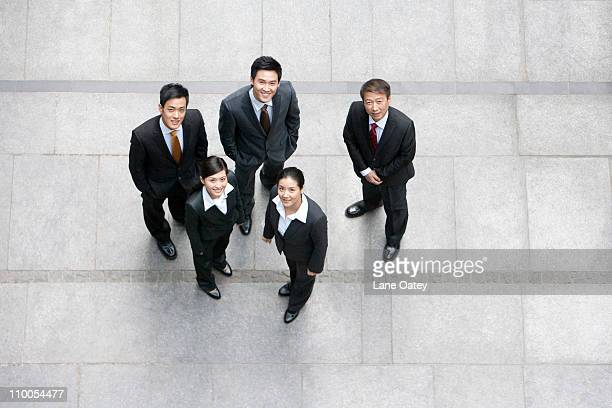 A team of business partners