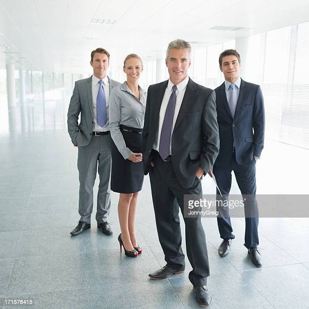 Team Of Business Professionals