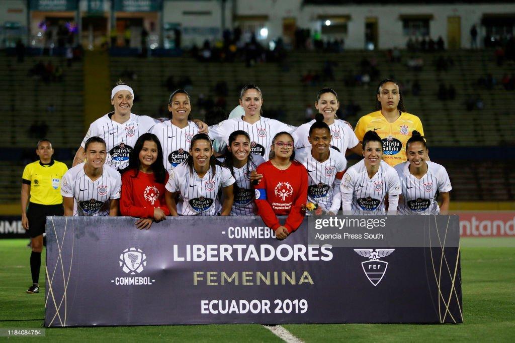 Team Of Corinthians During Final Match Between Corinthians