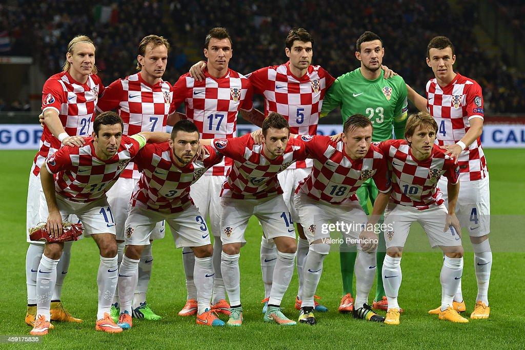 Italy v Croatia - EURO 2016 Qualifier : News Photo