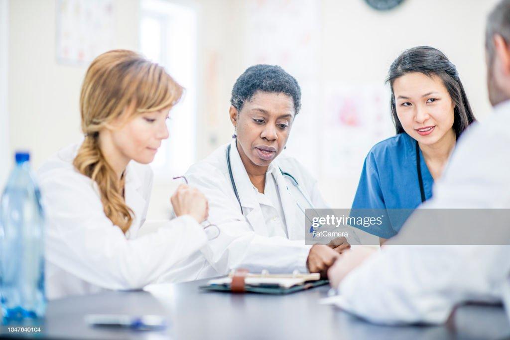 Team Of Doctors : Stock Photo