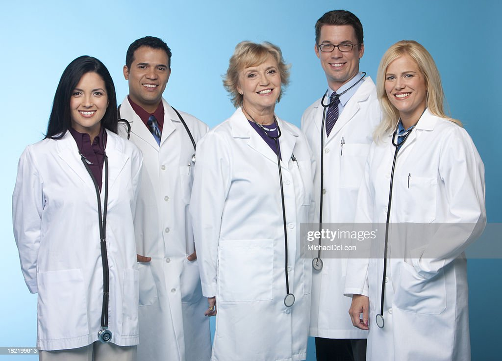 Team of Doctors : Stock Photo