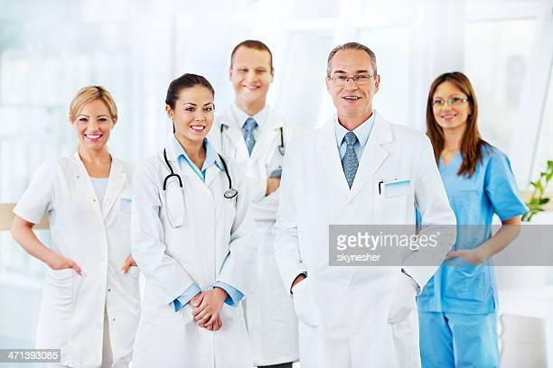 Equipe de médicos.