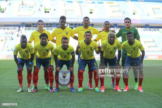 Team of Ecuador before the FIFA U20 World Cup Korea Republic 2017 group F match between Ecuador and Saudi Arabia at Incheon Munhak Stadium on May 25...