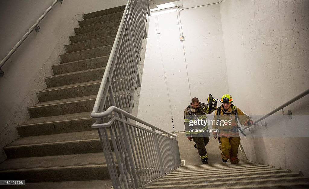 A Team Of Firefighters Made Up Of Members From Across The East Coast  Participate In The