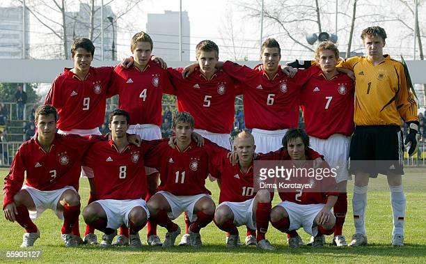 Team of Germany Eric Tappiser Kai Bastian Evers Thorben Stadler Kevin Wolze Henning Sauerbier Rene Vollath Marvin Pachan Nils Teixeira Dennis Dowidat...