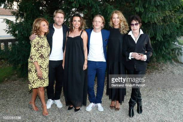 Team of 'Guy' Nicole Calfan Tom Dingler Elodie Bouchez director Alex Lutz Pascale Arbillot and Dani attend the 11th Angouleme FrenchSpeaking Film...