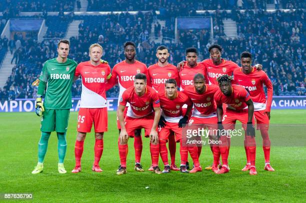 team of Monaco line up Diego Benaglio Kamil GLik Soualiho Meite Rachid Ghezzal Jemerson Terence Kongol and Adama Diakhaby Guido Carrillo Rony Lopez...