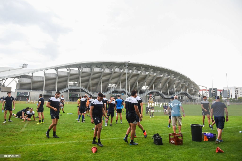 Montpellier Herault Rugby - First training session 2018/2019