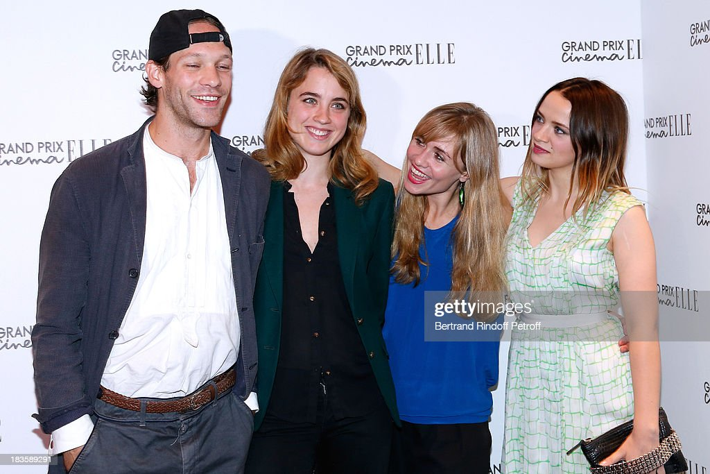 Team Of Movie Suzanne Actor Paul Hamy Actress Adele Haenel News Photo Getty Images