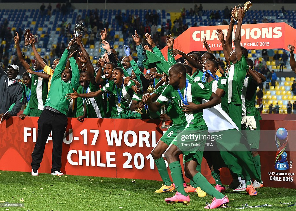Mali v Nigeria: Final - FIFA U-17 World Cup Chile 2015 : News Photo