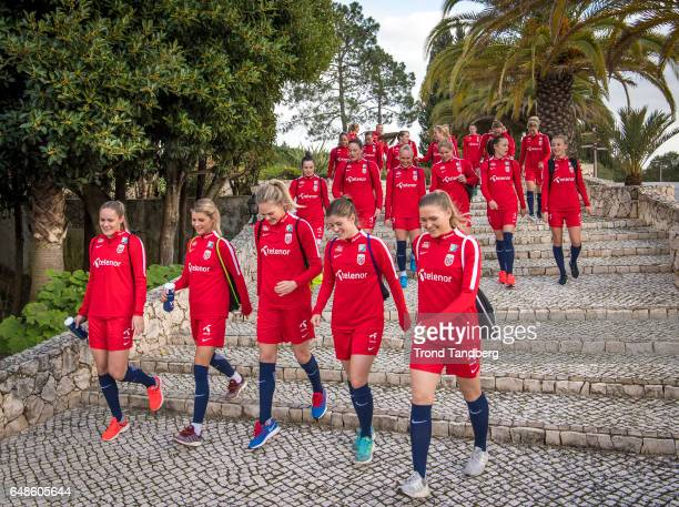 Team of Norway during training on February 28 2017 in Portimao Portugal