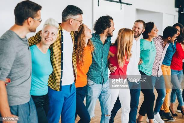 equipe de profissionais - igualdade - fotografias e filmes do acervo
