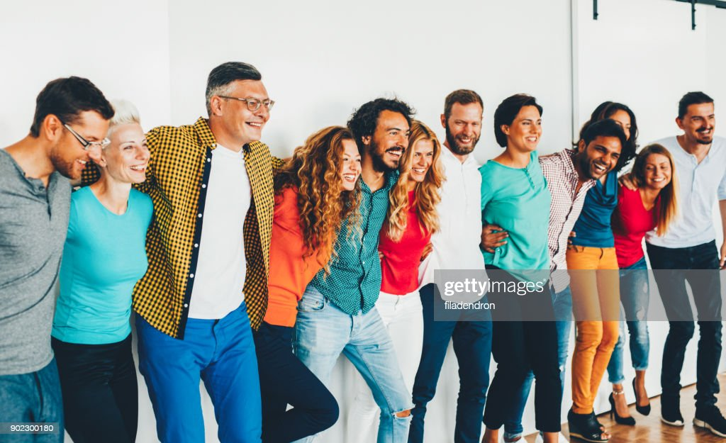 Team of professionals : Stock Photo