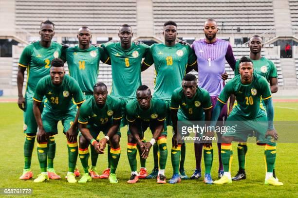 Team of Senegal Kara Mbodji Zargo Toure Famara Diedhiou Alfred Ndiaye goalkeeper Abdoulaye Diallo Saliou Ciss Lamine Gassama Henri Saivet Sadio Mane...