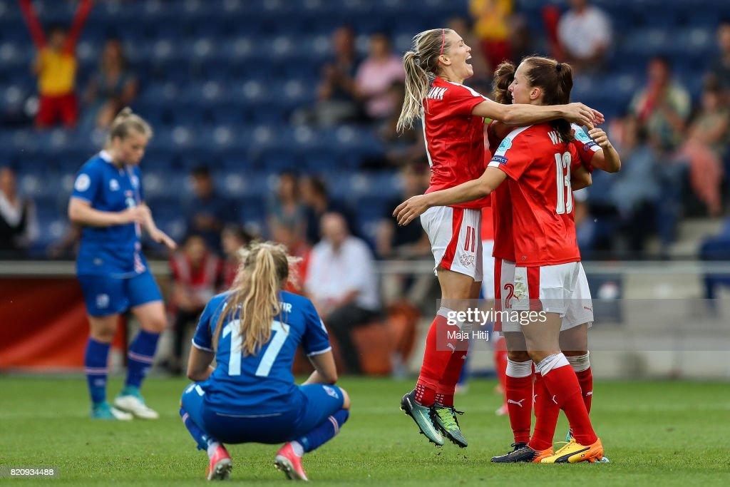 Iceland v Switzerland - UEFA Women's Euro 2017: Group C : Photo d'actualité