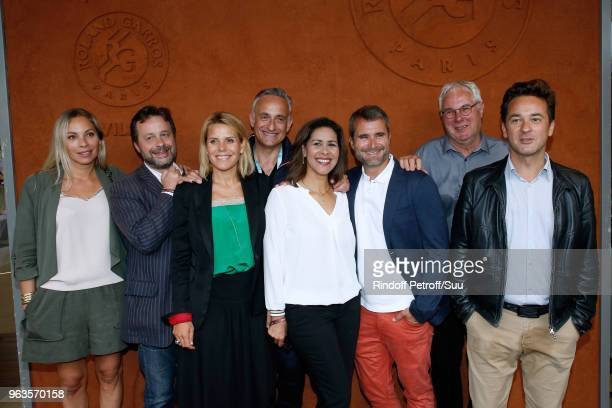 "Team of ""Telematin"" Charlotte Bouteloup, Patrice Romedenne, Laura Tenoudji, Philippe Collignon, Sophie Gastrin, Gregoire tournon, Emmanuel Vannier,..."