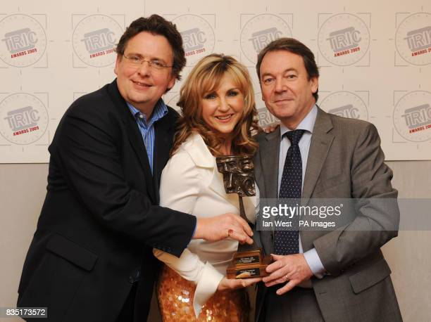 Team of the Antiques Roadshow with their award for 'TV Arts/Documentary Programme' during the Tric Awards held at the Grosvenor House Hotel central...