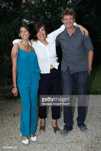 Team of the film 'Un amour impossible' Estelle Lescure director Catherine Corsini and Niels Schneider attend the 11th Angouleme FrenchSpeaking Film...