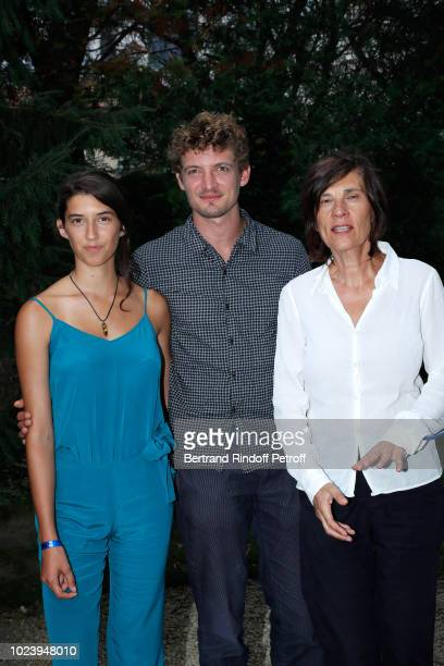 Team of the film 'Un amour impossible' Estelle Lescure Niels Schneider and director Catherine Corsini attend the 11th Angouleme FrenchSpeaking Film...