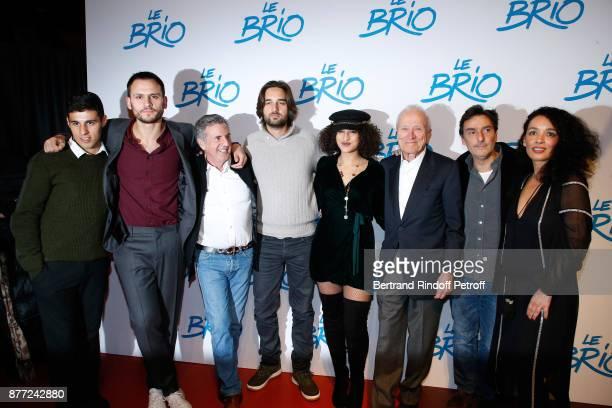 Team of the movie Actor Yasin Houicha producer Benjamin Elalouf actor Daniel Auteuil producer Dimitri Rassam actress Camelia Jordana president of...