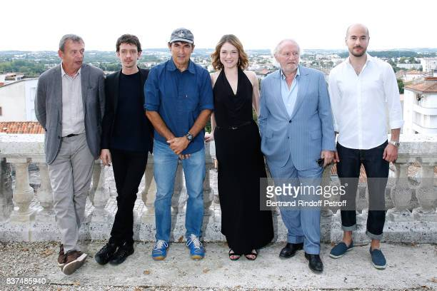Team of the movie Actors Pierre Lemaitre Nahuel Perez Biscayart Director Albert Dupontel actors Emilie Dequenne Niels Arestrup and Kyan Khojandi...