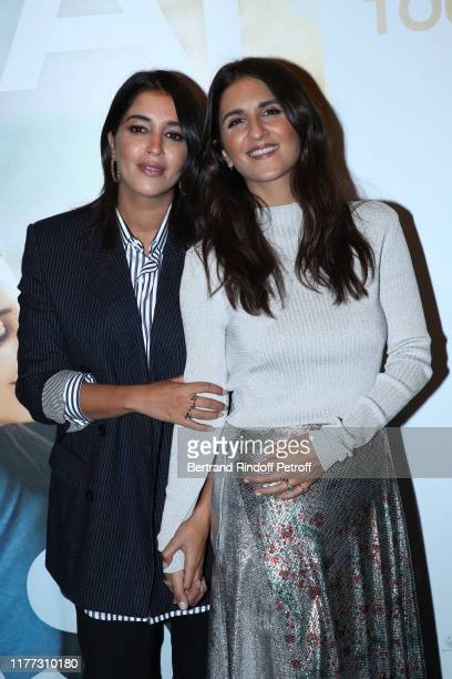 Team of the movie actress Leila Bekhti and director Geraldine Nakache attends the J'irai ou tu iras Premiere at Cinema UGC Bercy on September 26 2019...