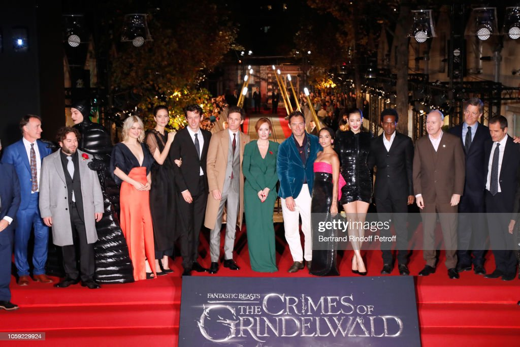 'Fantastic Beasts: The Crimes Of Grindelwald' World Premiere At UCG Bercy In Paris : ニュース写真