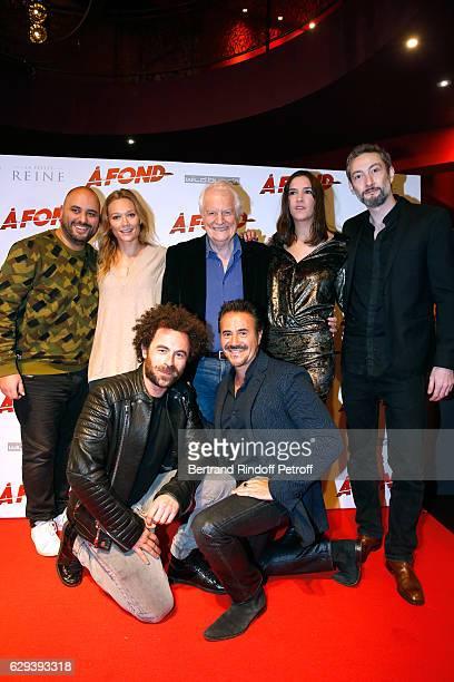 Team of the movie Jerome Commandeur Caroline Vigneaux Andre Dussollier Charlotte Gabris Vincent Desagnat director Nicolas Benamou and Jose Garcia...