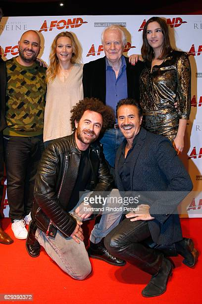 Team of the movie Jerome Commandeur Caroline Vigneaux Andre Dussollier Charlotte Gabris director Nicolas Benamou and Jose Garcia attend the 'A Fond'...