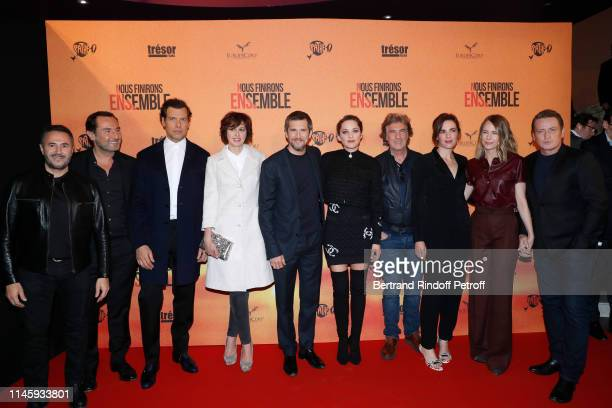 Team of the movie Jose Garcia Gilles Lellouche Laurent Lafitte Valerie Bonneton Guillaume Canet Marion Cotillard Francois Cluzet Clementine Baert...