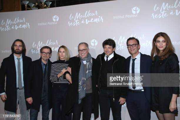 Team of the movie Producer Dimitri Rassam codirector Matthieu Delaporte actors Pascale Arbillot Fabrice Luchini Patrick Bruel codirector Alexandre de...