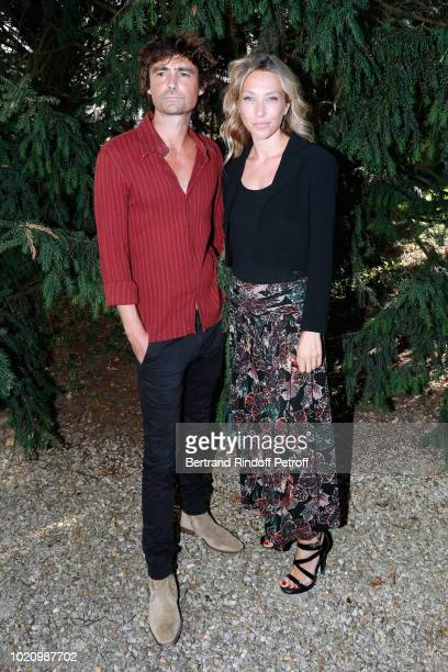 Team of the shortfilm 'Thomas' actor Nicolas Herman and director Laura Smet dressed in chanel attend the 11th Angouleme FrenchSpeaking Film Festival...