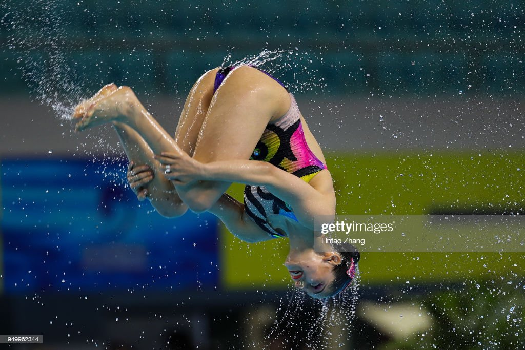 FINA Artistic Swimming World Series 2018 - Day 3