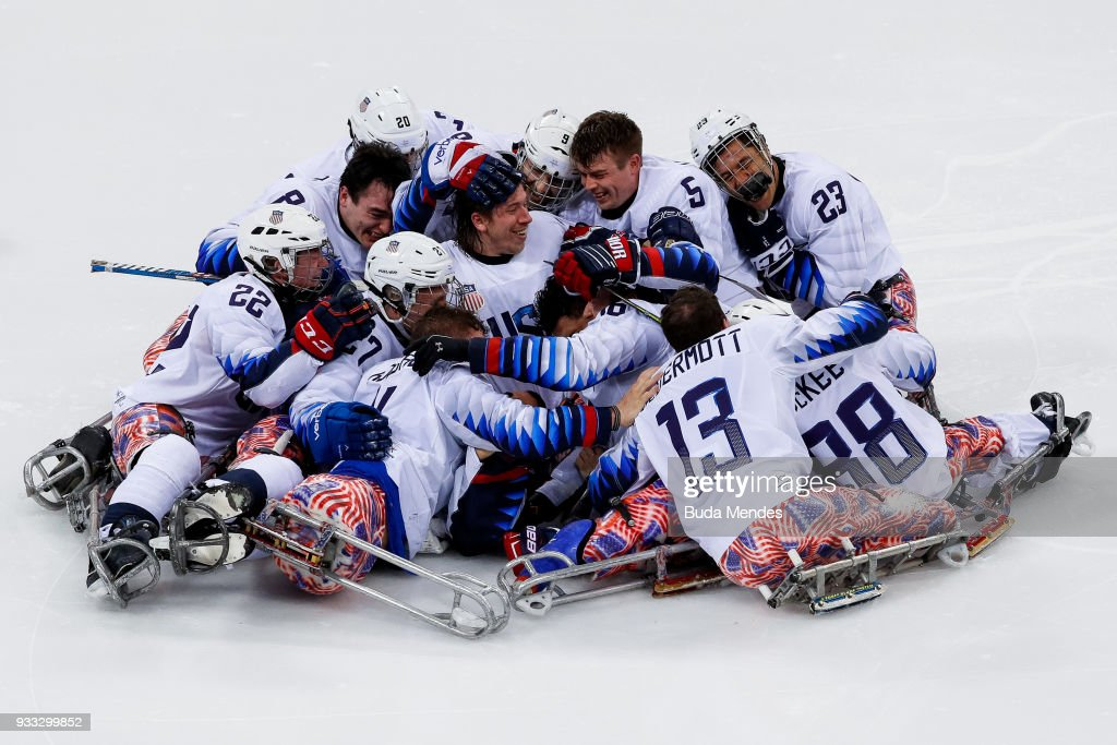 USA Wins Third Straight Sled Hockey Gold
