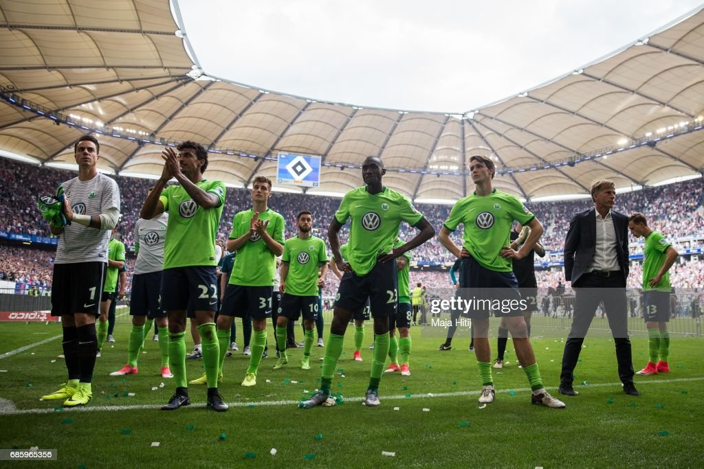 Hamburger SV v VfL Wolfsburg - Bundesliga : News Photo