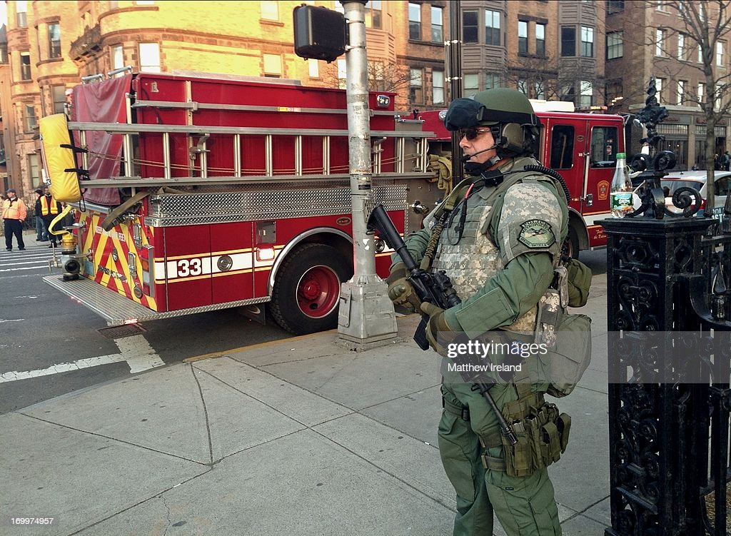 SWAT Team in Boston after Marathon Bombings Pictures | Getty Images